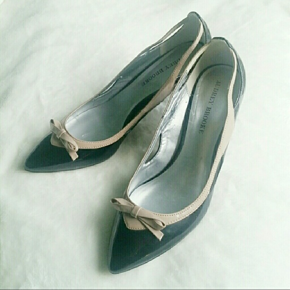 26e752db1ea Audrey Brooke Black Pink Heels Shoes 85